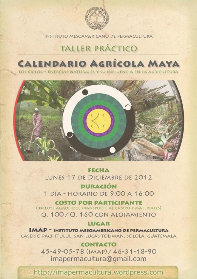 imap-taller-permacultura-calendario-agricola-maya