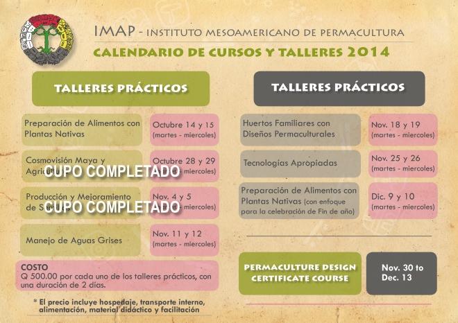 IMAP_calendario_talleres_2014 3er. tri
